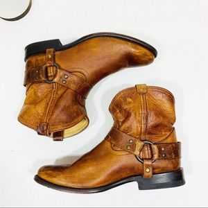 Frye Harness Leather Bootie